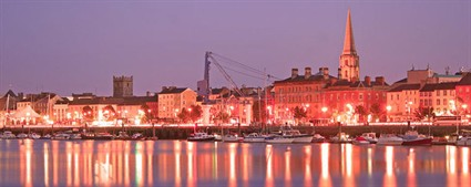 Waterford _city _at _night